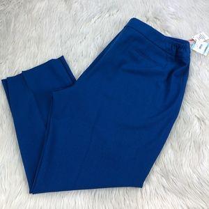 NWT Anne Klein Straight Leg Dress Pants Trousers